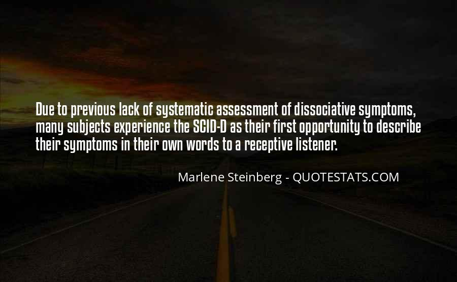 Dissociative Quotes #1537725