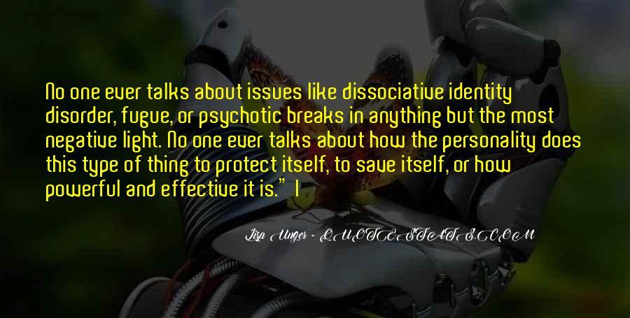 Dissociative Quotes #1871518