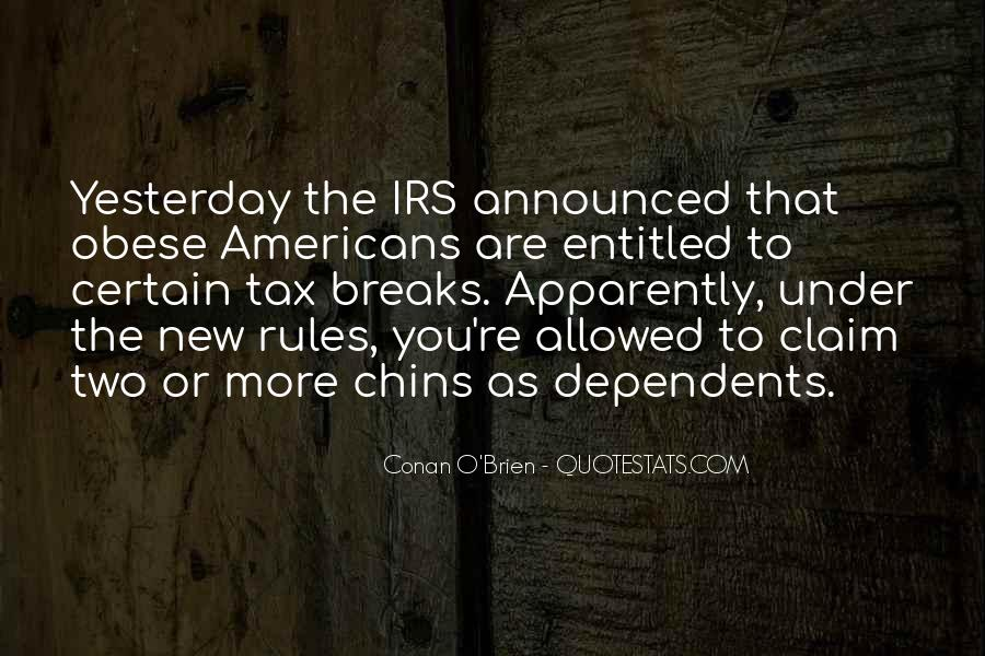 Quotes About Irs #1323170