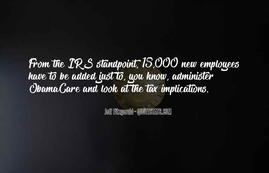 Quotes About Irs #134934