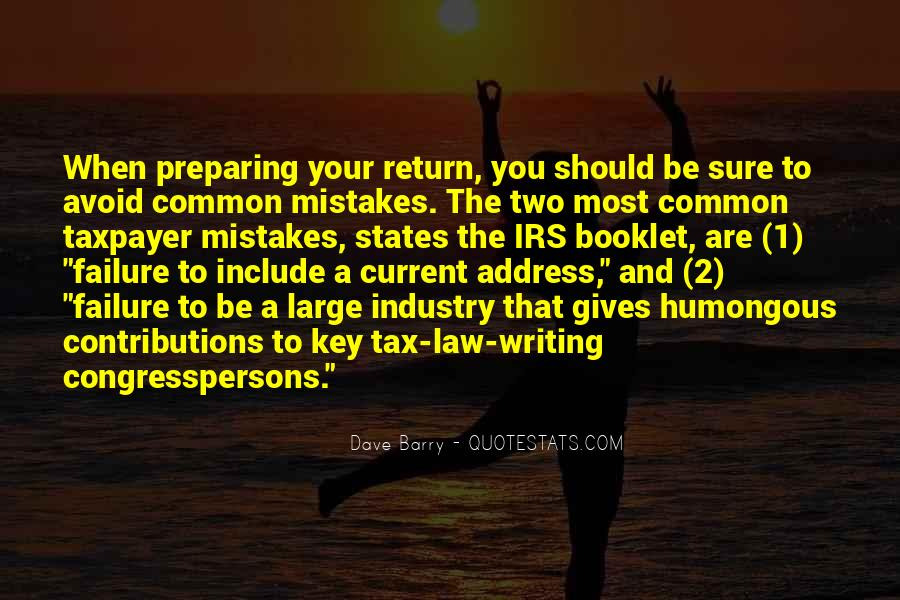 Quotes About Irs #300303