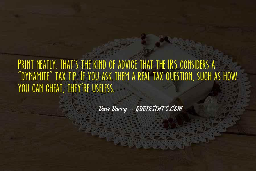Quotes About Irs #397109