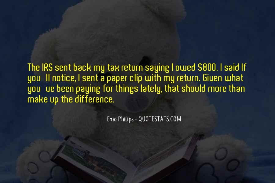 Quotes About Irs #657439