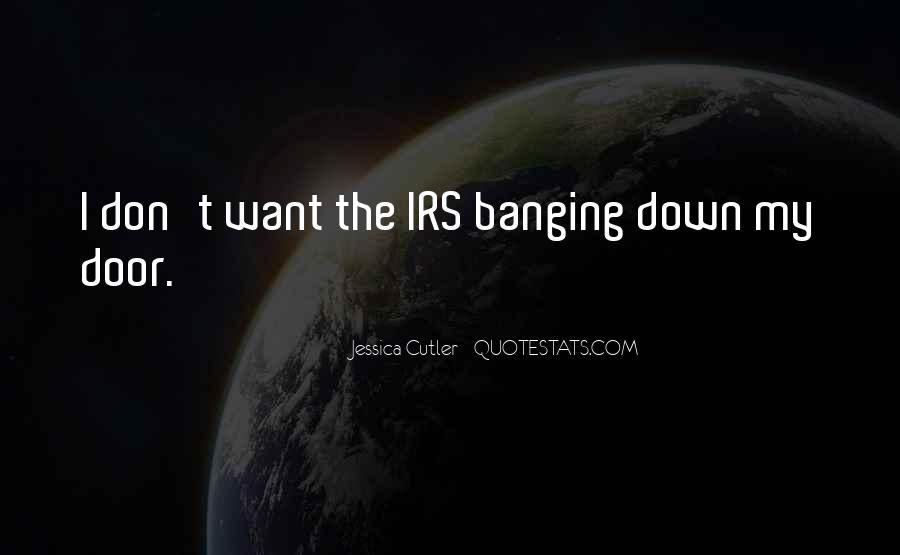 Quotes About Irs #891336