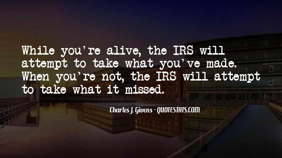 Quotes About Irs #967002