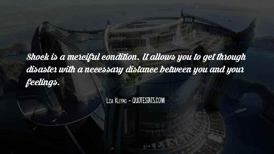 Distance Is Necessary Quotes #1817273