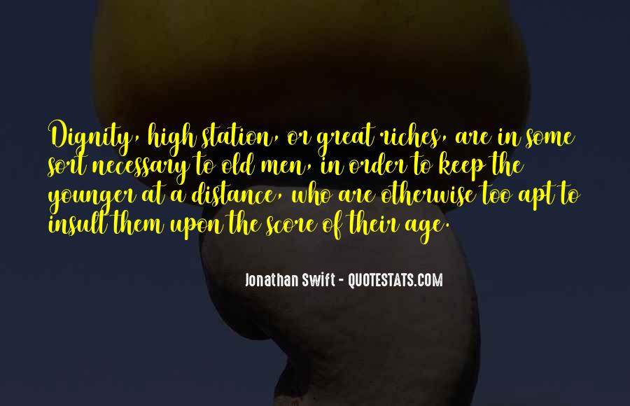 Distance Is Necessary Quotes #27584
