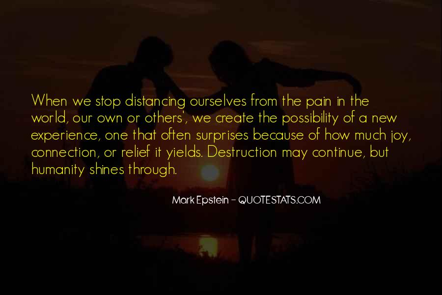 Distancing Myself From Him Quotes #193825