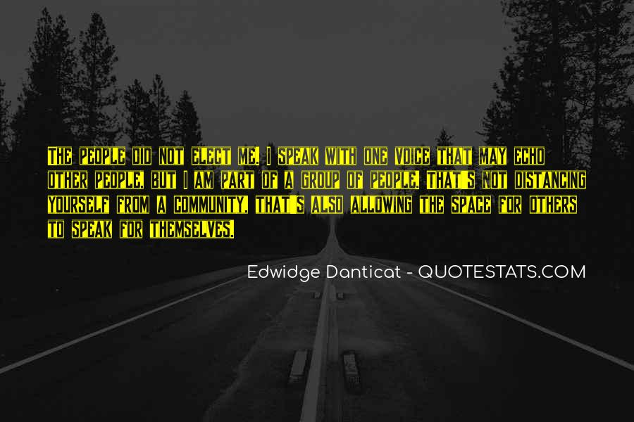 Distancing Myself From Him Quotes #493007