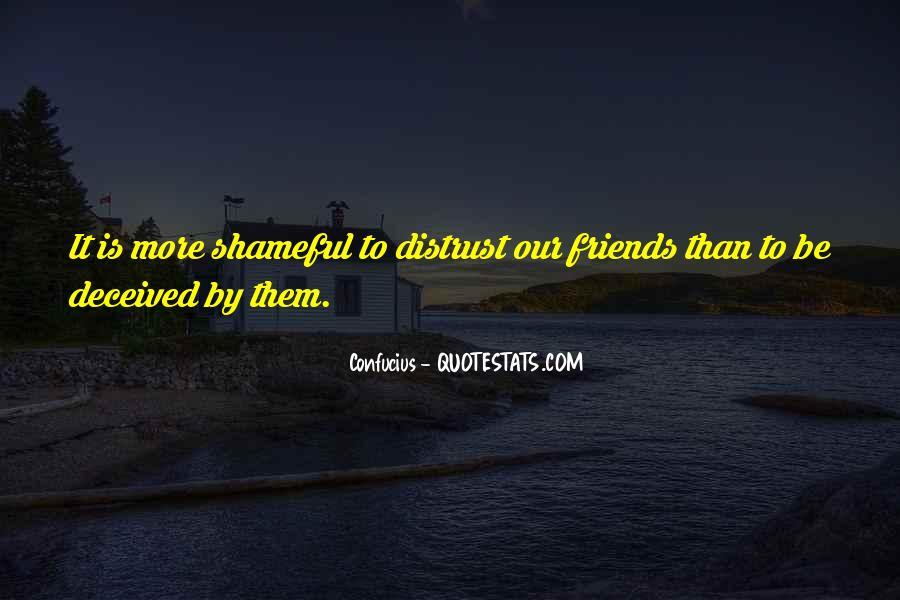 Distrust Friendship Quotes #232000