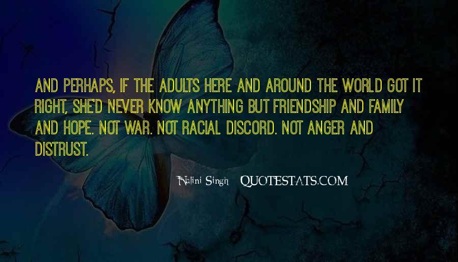 Distrust Friendship Quotes #637716
