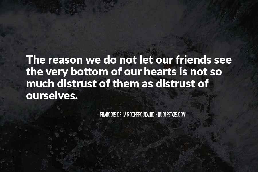 Distrust Friendship Quotes #639373