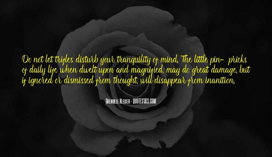 Disturb Life Quotes #427657