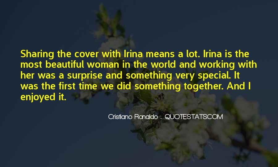 Quotes About Irina #1377641