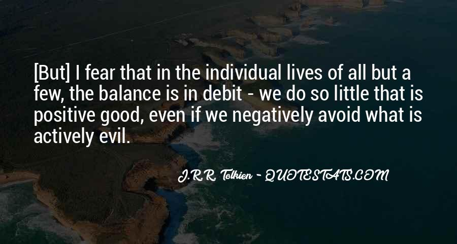 Do Good And Avoid Evil Quotes #717887