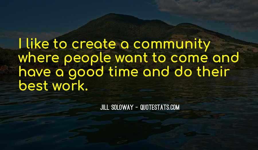 Do Good Work Quotes #148999