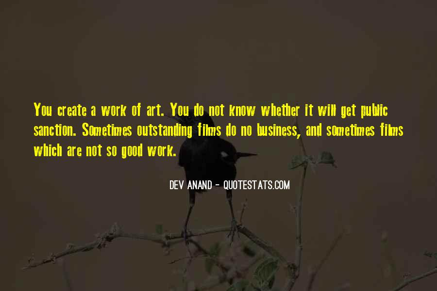 Do Good Work Quotes #149499
