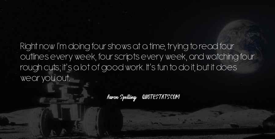 Do Good Work Quotes #168954