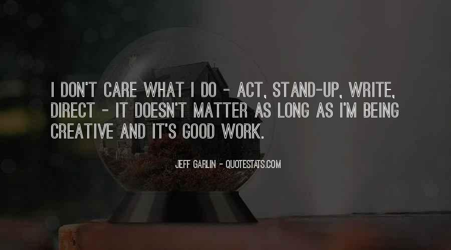 Do Good Work Quotes #18008