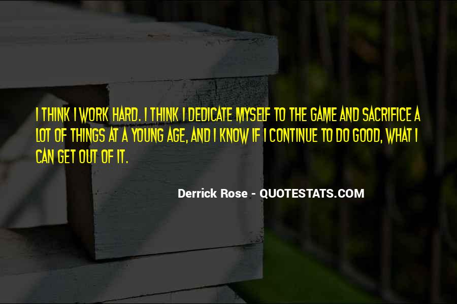 Do Good Work Quotes #252899