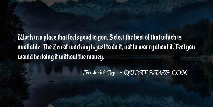 Do Good Work Quotes #274520