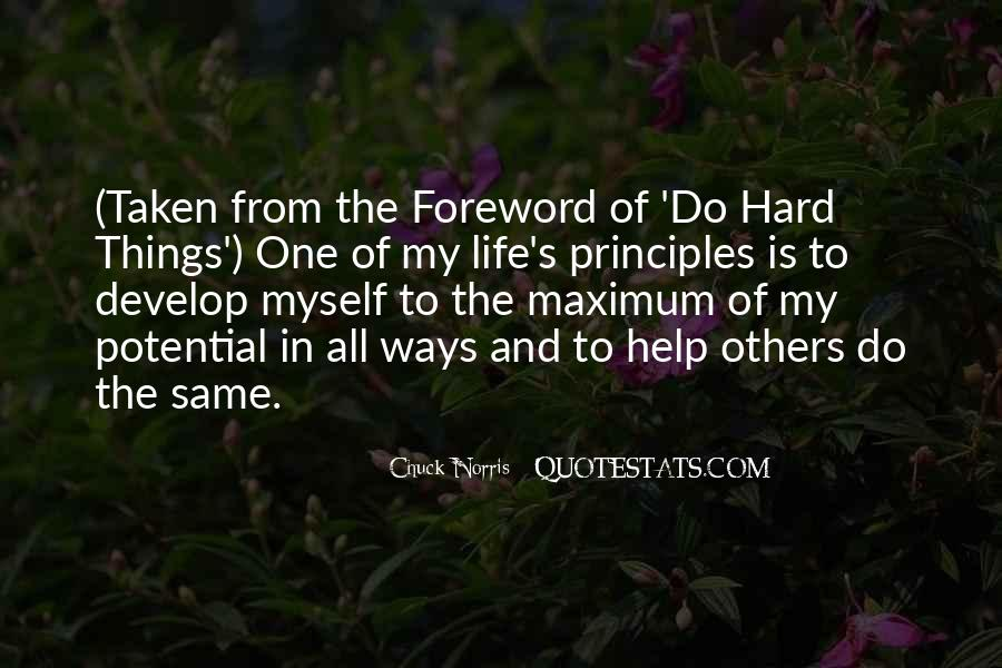 Do Hard Things Quotes #298793