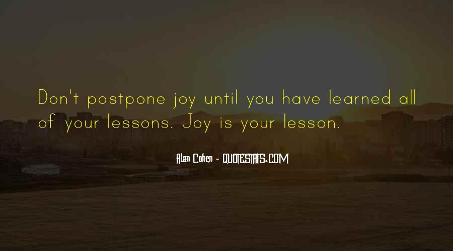 Do Not Postpone Quotes #298352