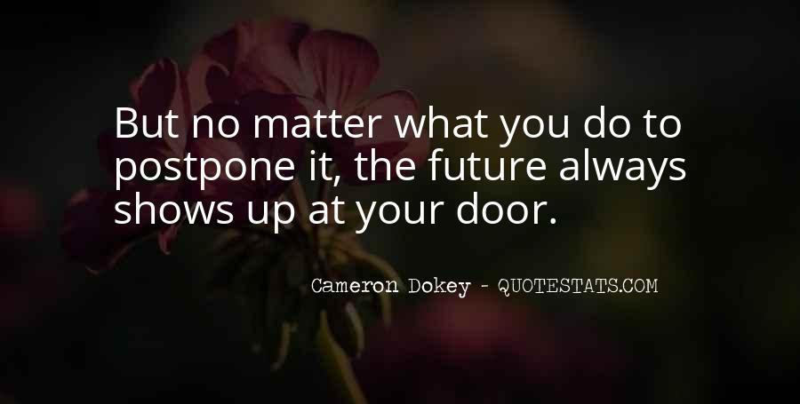 Do Not Postpone Quotes #57221