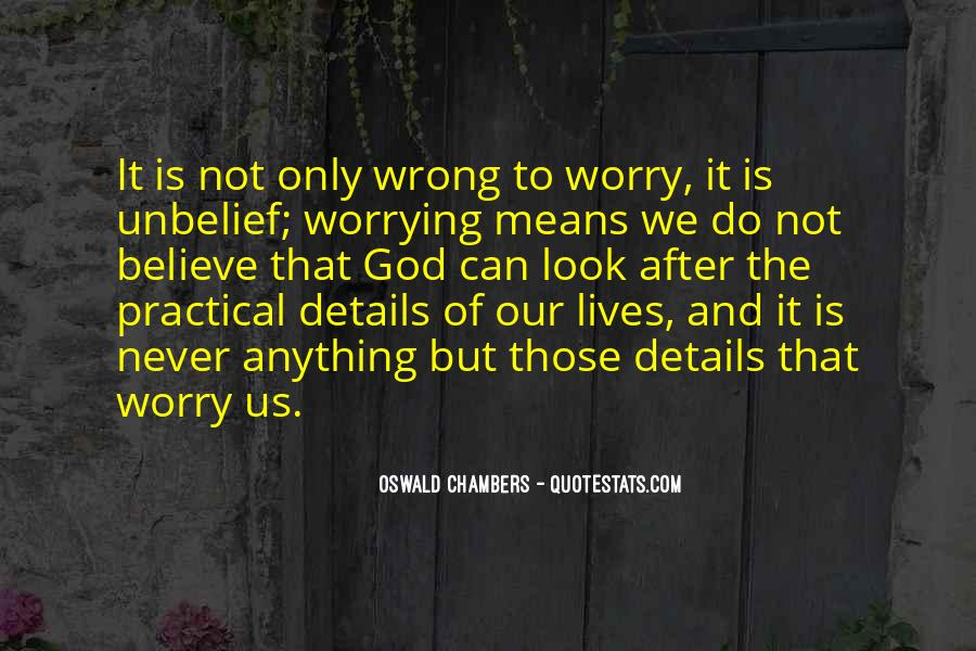 Do Not Worrying Quotes #663628