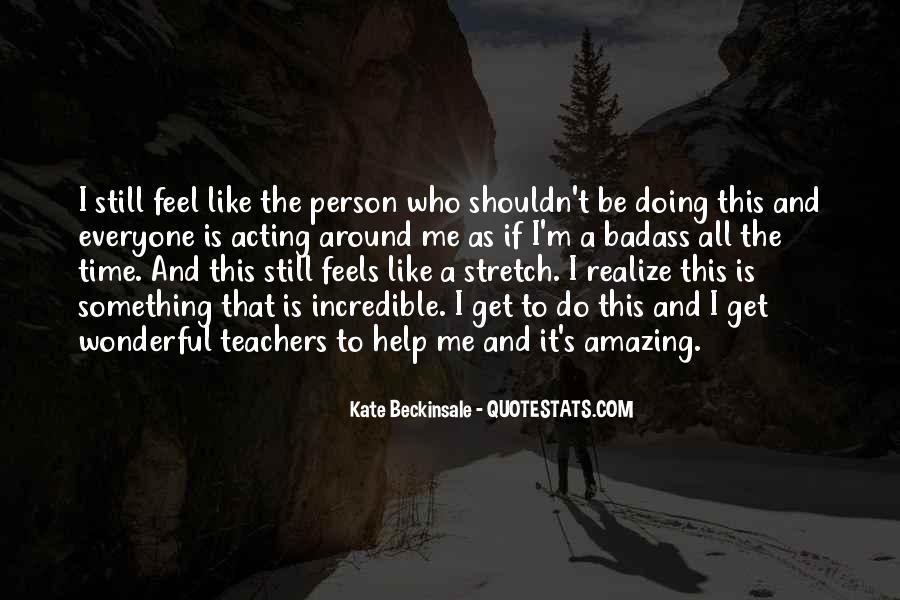 Do Something Amazing Quotes #1180873