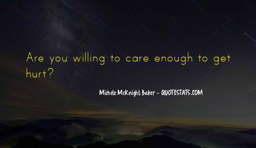 Do U Think I Care Quotes #1049