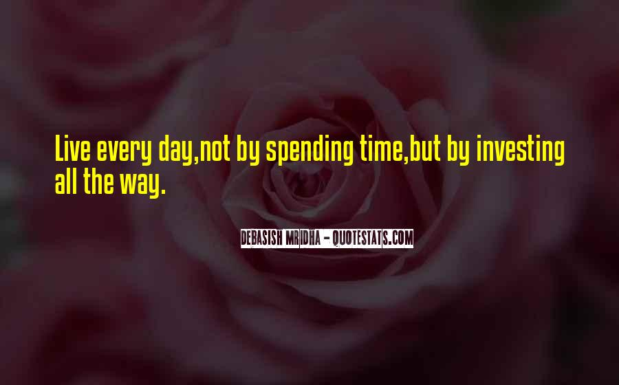 Quotes About Investing In Love #1474494