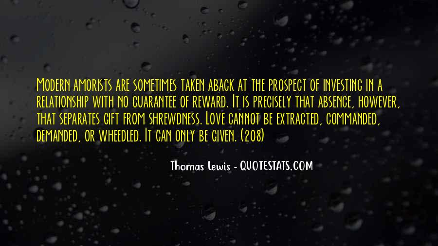 Quotes About Investing In Love #1724136