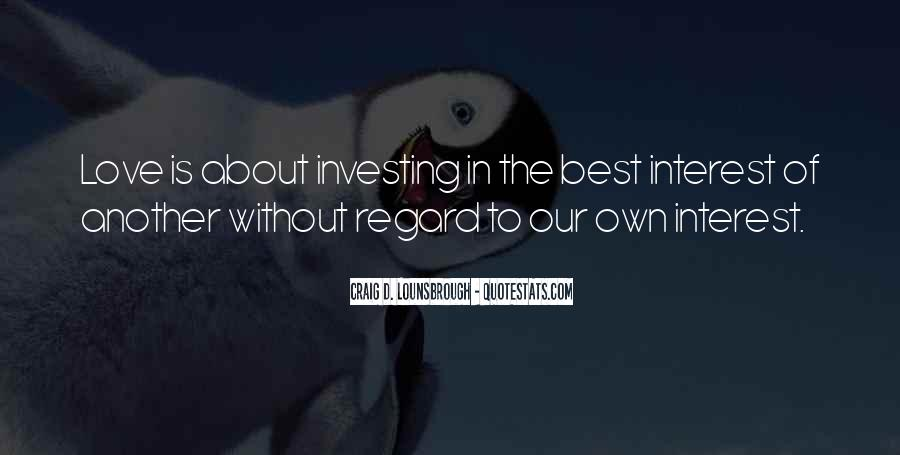 Quotes About Investing In Love #201805