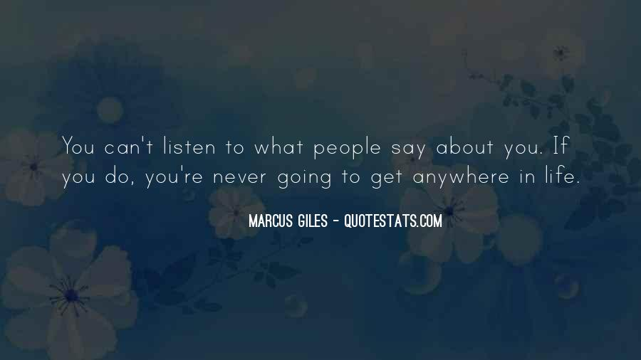 Do What You Say You're Going To Do Quotes #1272440