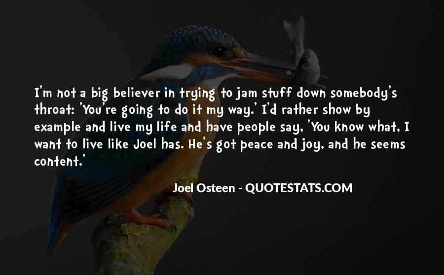 Do What You Say You're Going To Do Quotes #1386372