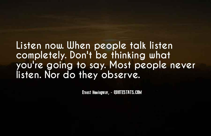 Do What You Say You're Going To Do Quotes #338934