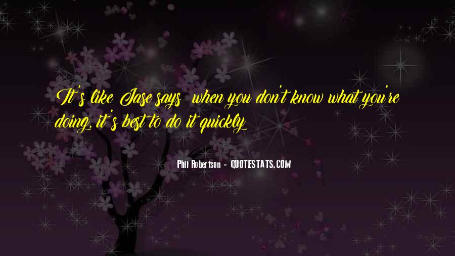 Do What's Best Quotes #283586