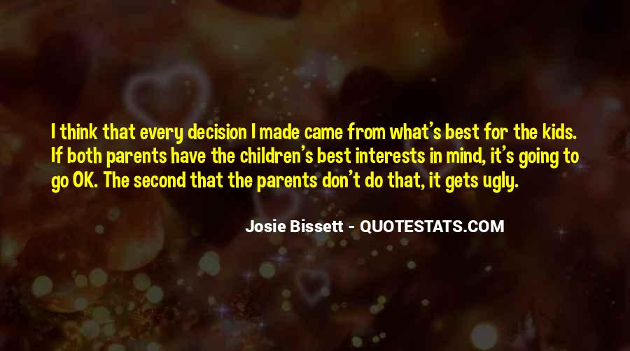 Do What's Best Quotes #324594