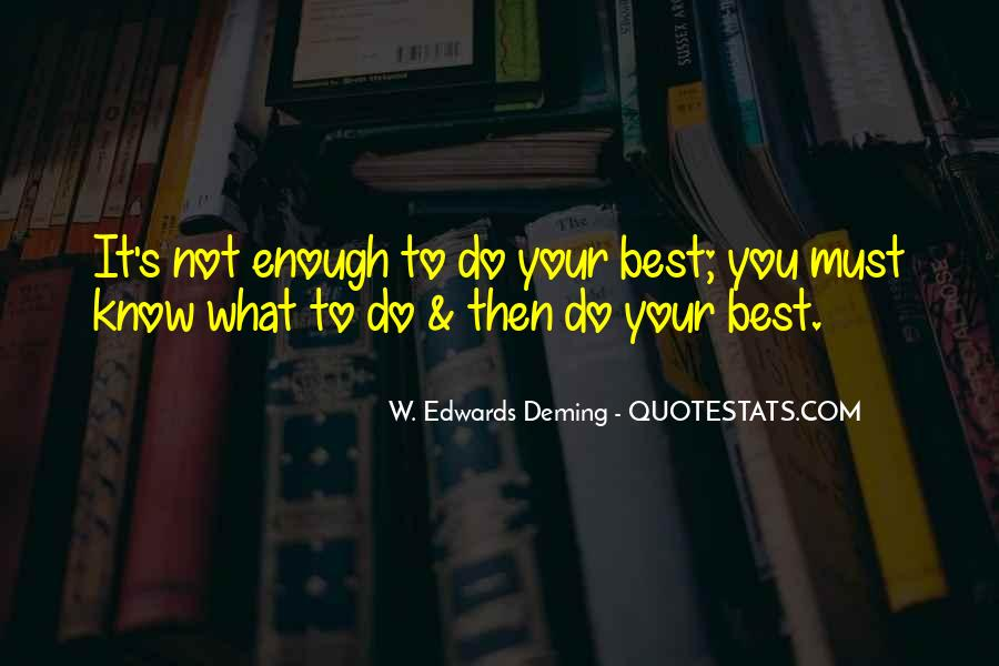Do What's Best Quotes #364828