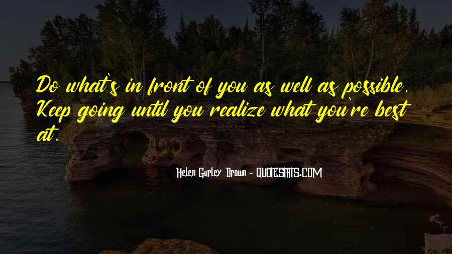 Do What's Best Quotes #371412