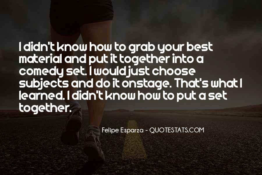 Do What's Best Quotes #92307