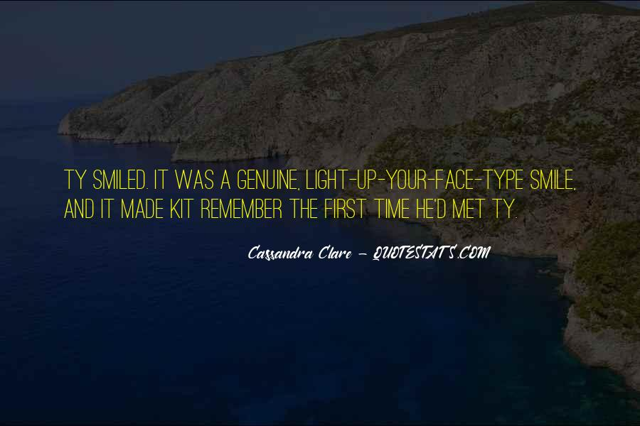 Do You Remember When We First Met Quotes #1872197