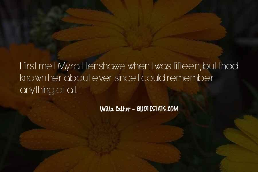 Do You Remember When We First Met Quotes #27226