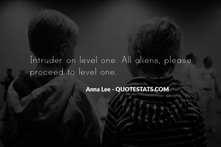 Quotes About Intruder #1735311