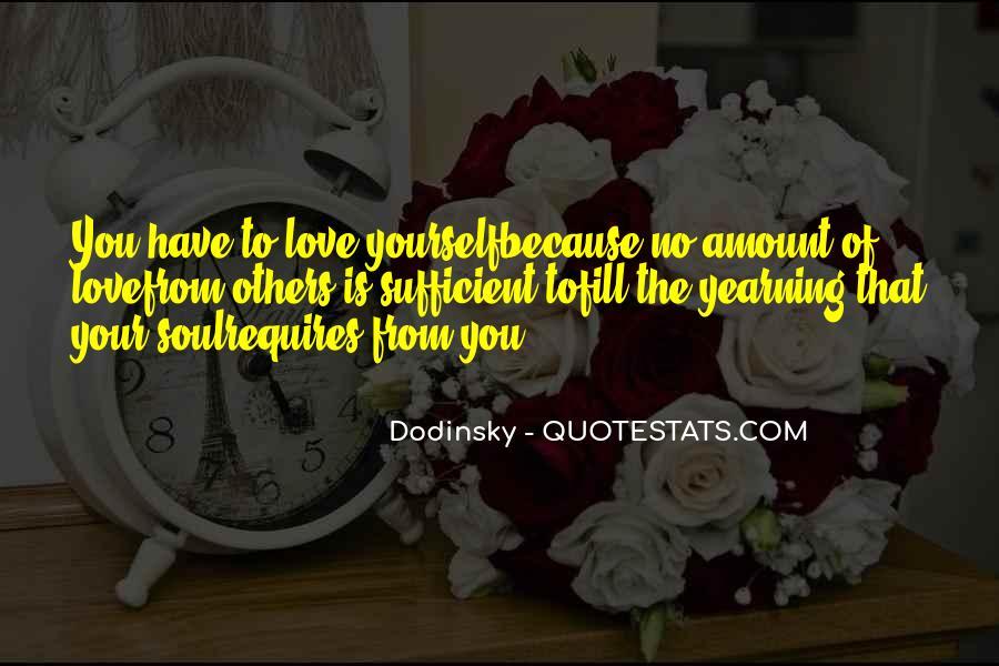 Dodinsky Love Quotes #1635585