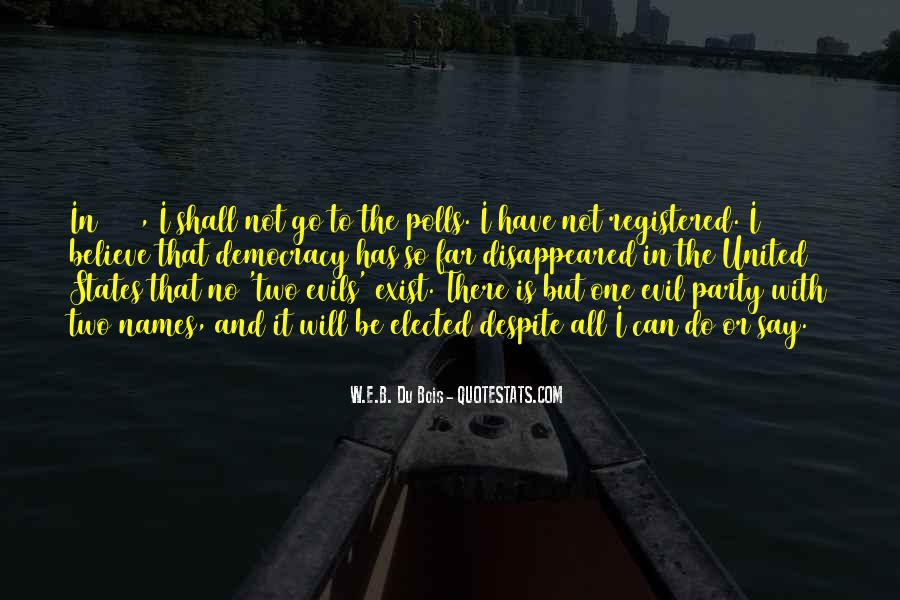 Does Evil Exist Quotes #1171415