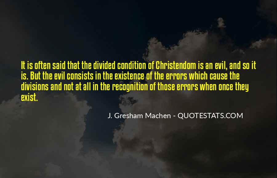 Does Evil Exist Quotes #177529