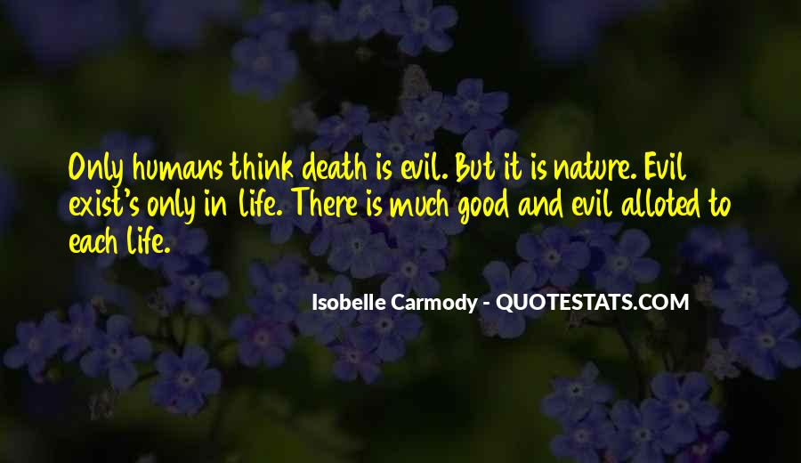 Does Evil Exist Quotes #464453