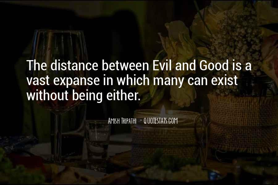 Does Evil Exist Quotes #659262